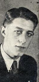 Børge Olsen fra Thor 1942. Holdets unge anfører. Han er måske ikke den samme Kanonbørge som Frode omtaler