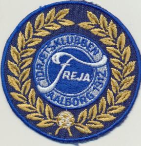 Frejas logo tegnet efter 1912.